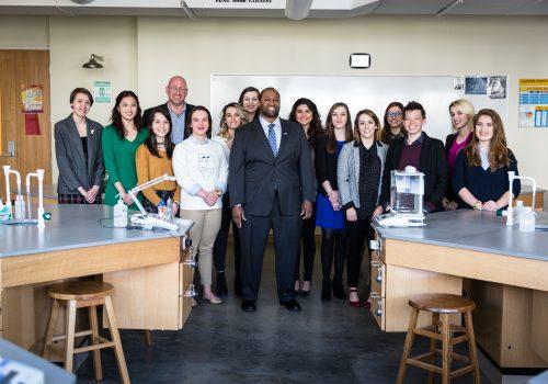 GlaxoSmithKline group of students
